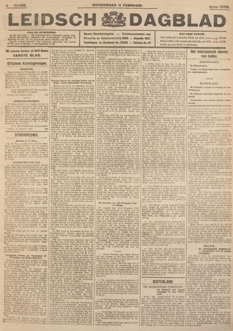 Leidsch Dagblad 1926-02-11