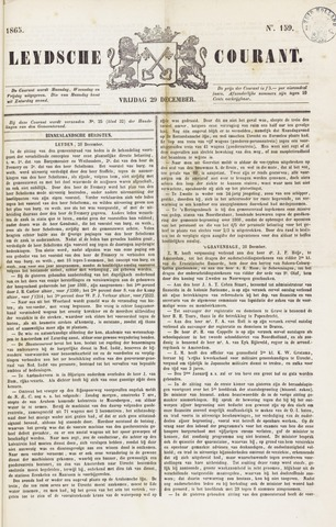 Leydse Courant 1865-12-29