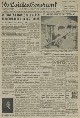 Leidse Courant 1954-01-13