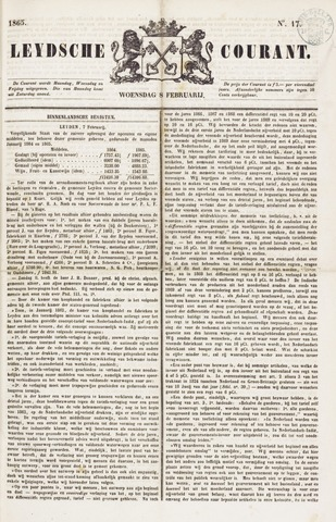 Leydse Courant 1865-02-08