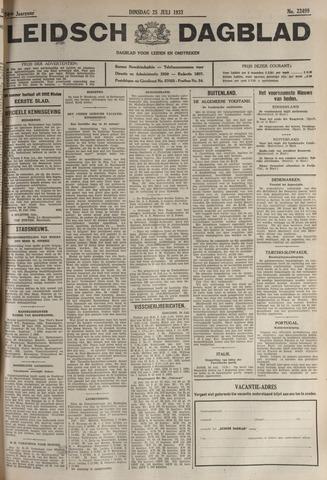 Leidsch Dagblad 1933-07-25
