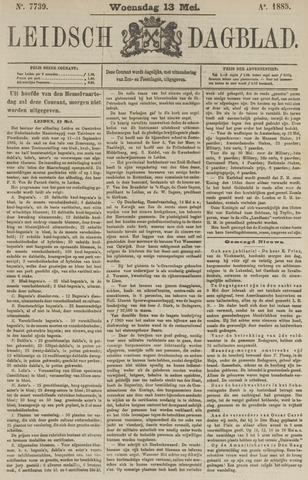 Leidsch Dagblad 1885-05-13