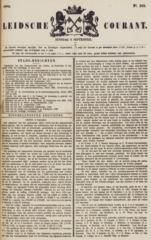Leydse Courant 1884-09-09