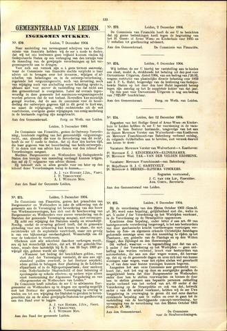Handelingen van de Raad 1904-12-07