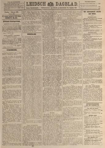 Leidsch Dagblad 1921-02-01