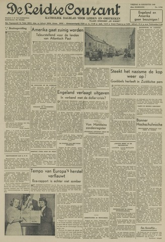 Leidse Courant 1949-08-26
