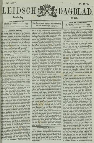 Leidsch Dagblad 1876-07-27