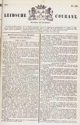 Leydse Courant 1877-08-20