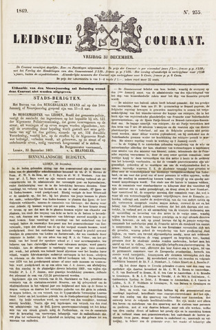 Leydse Courant 1869-12-31