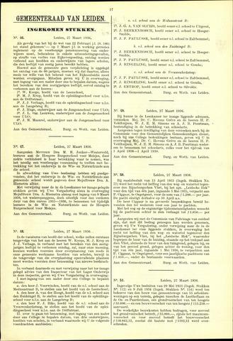 Handelingen van de Raad 1936-03-27