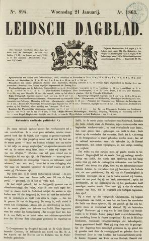 Leidsch Dagblad 1863-01-21