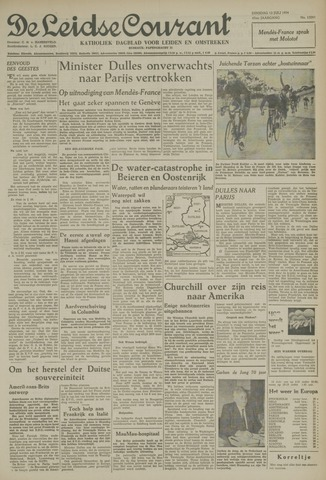 Leidse Courant 1954-07-13