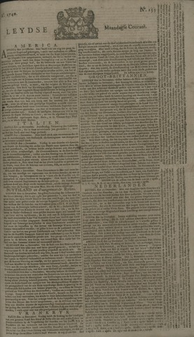 Leydse Courant 1740-12-26