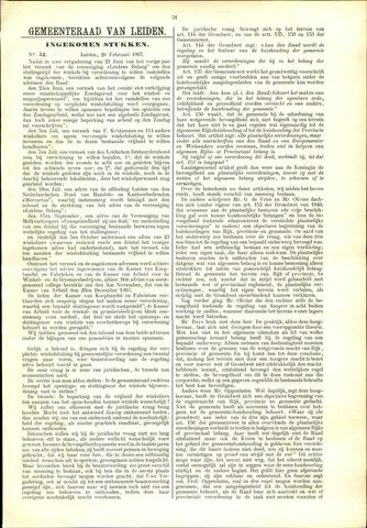 Handelingen van de Raad 1907-02-26
