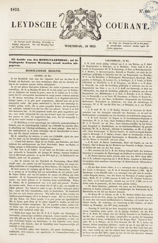 Leydse Courant 1852-05-19