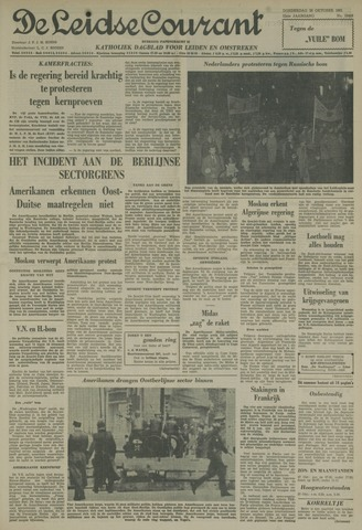 Leidse Courant 1961-10-26