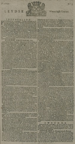 Leydse Courant 1734-01-06