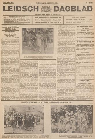 Leidsch Dagblad 1928-09-12