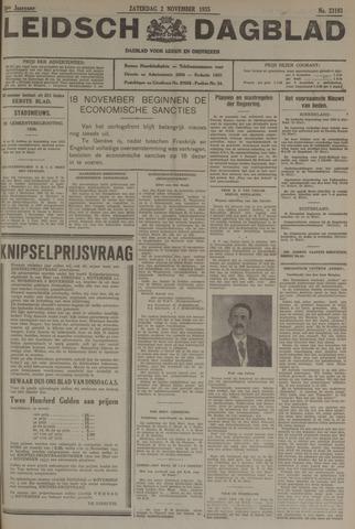 Leidsch Dagblad 1935-11-02