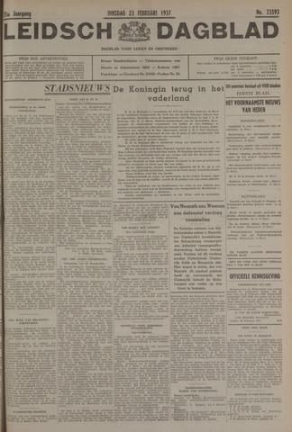 Leidsch Dagblad 1937-02-23