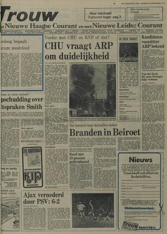 Nieuwe Leidsche Courant 1975-09-22