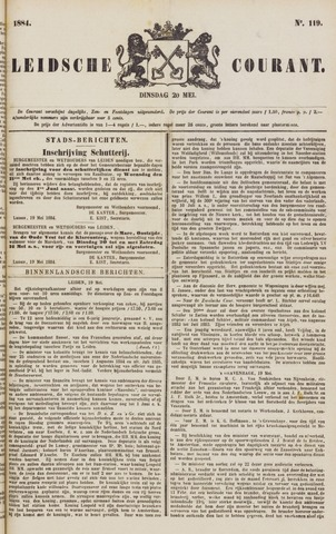 Leydse Courant 1884-05-20