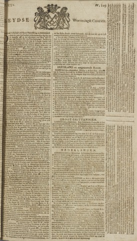 Leydse Courant 1772-09-09