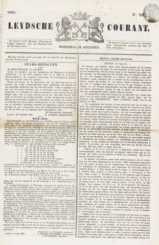 Leydse Courant 1865-08-23