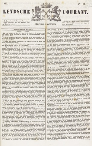 Leydse Courant 1865-10-09