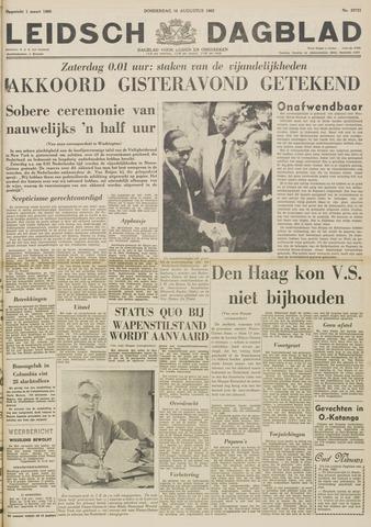 Leidsch Dagblad 1962-08-16