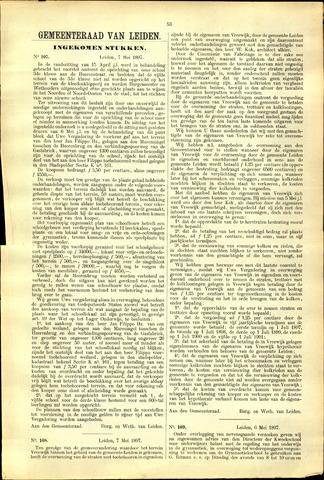 Handelingen van de Raad 1897-05-07