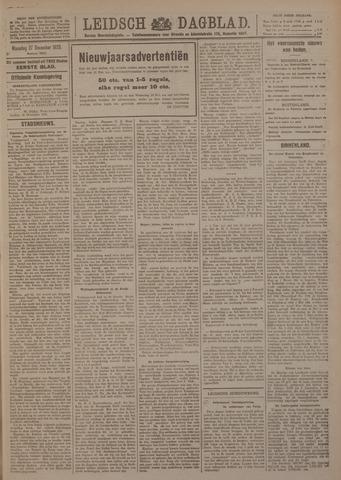Leidsch Dagblad 1920-12-27