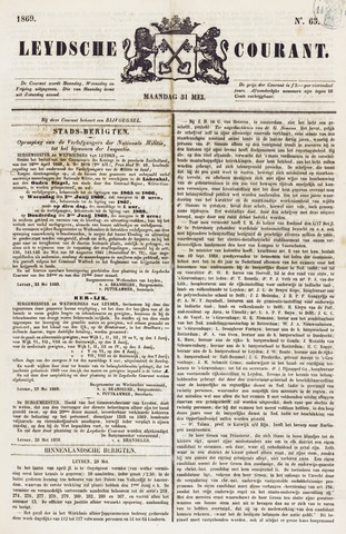 Leydse Courant 1869-05-31