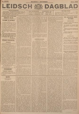 Leidsch Dagblad 1926-11-01