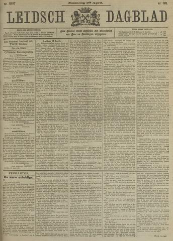 Leidsch Dagblad 1911-04-10