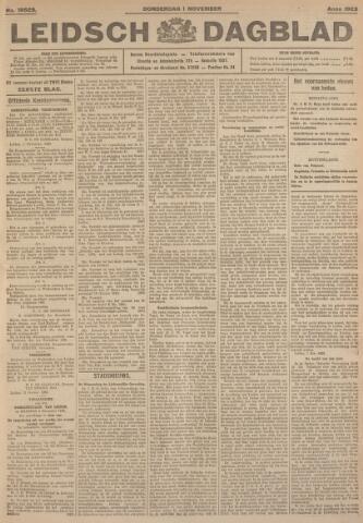 Leidsch Dagblad 1923-11-01