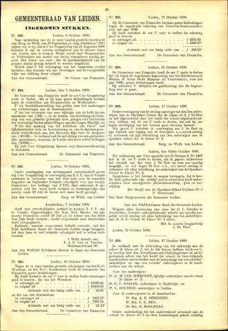 Handelingen van de Raad 1899-10-06
