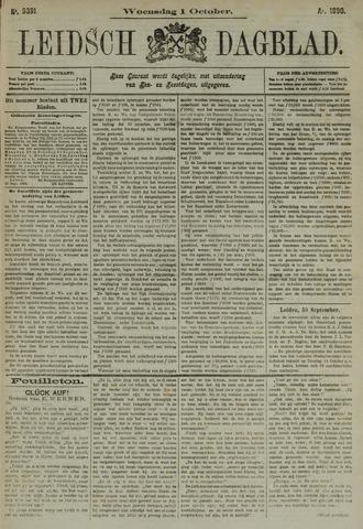 Leidsch Dagblad 1890-10-01