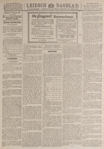 Leidsch Dagblad 1919-09-27