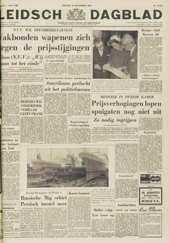 Leidsch Dagblad 1963-11-22