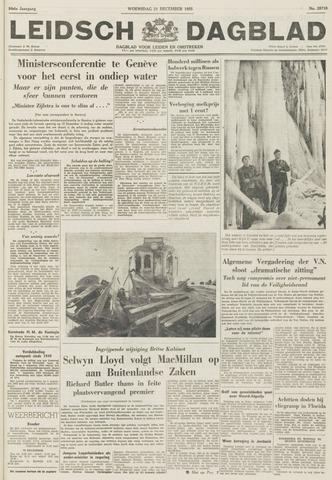 Leidsch Dagblad 1955-12-21