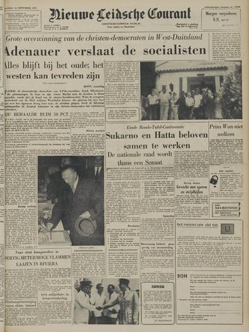 Nieuwe Leidsche Courant 1957-09-16