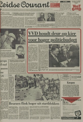 Leidse Courant 1987-10-27