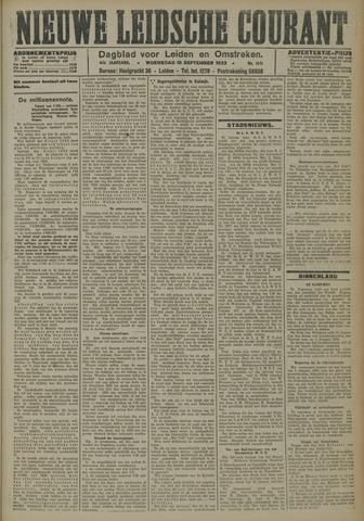 Nieuwe Leidsche Courant 1923-09-19
