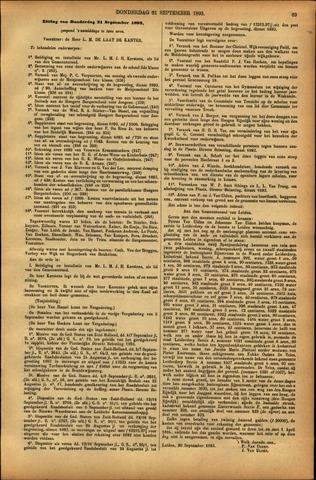 Handelingen van de Raad 1893-09-21