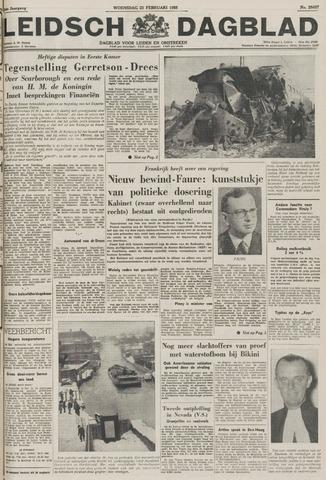 Leidsch Dagblad 1955-02-23