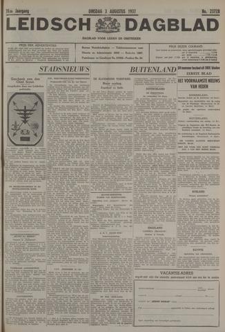 Leidsch Dagblad 1937-08-03
