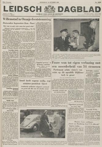 Leidsch Dagblad 1955-10-19