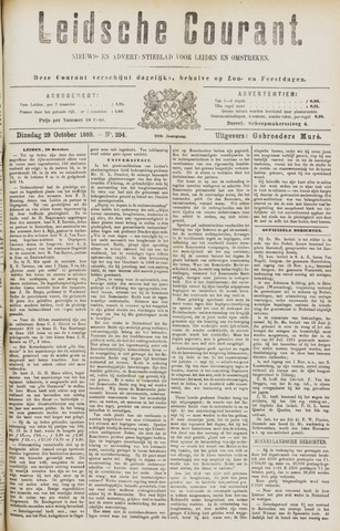 Leydse Courant 1889-10-29