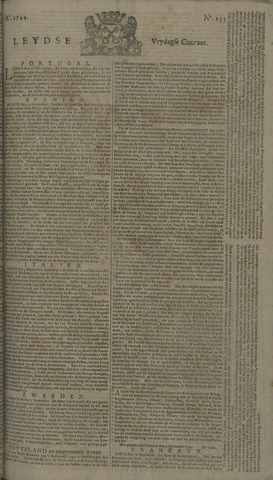 Leydse Courant 1744-12-25